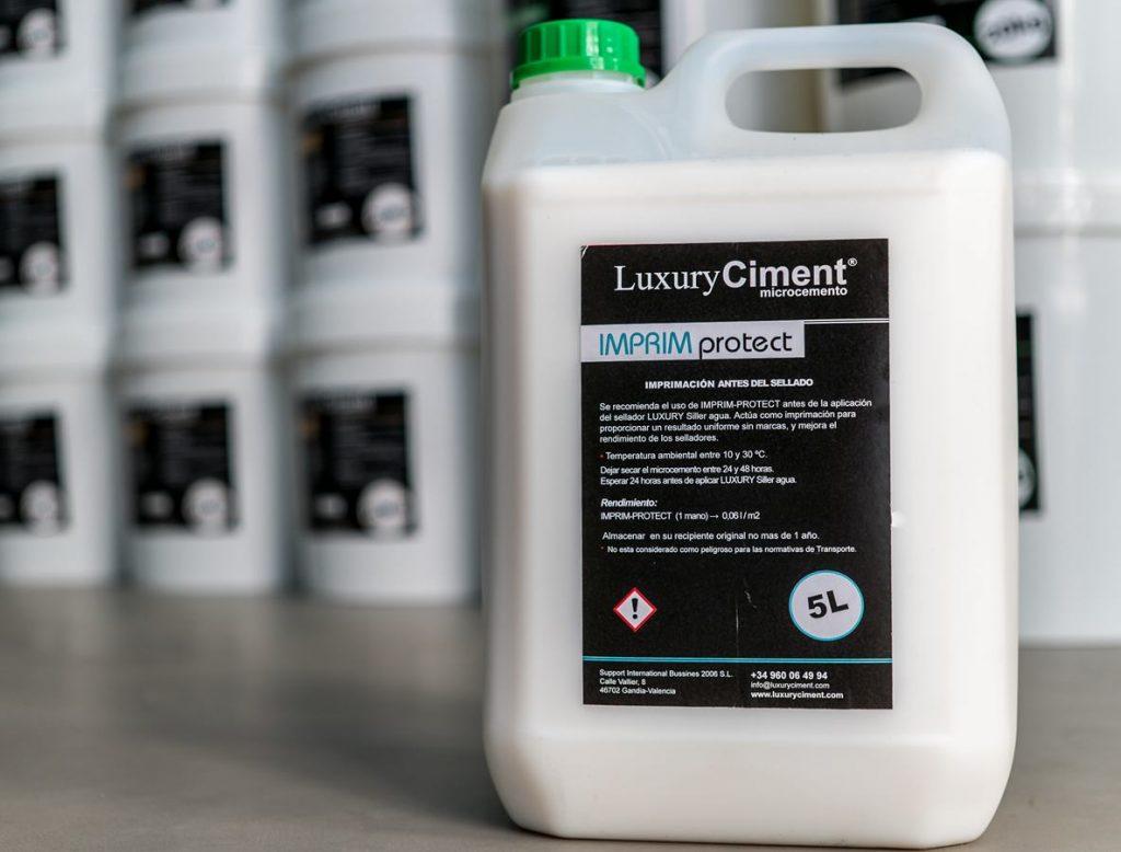 Imprim-Protect imprimación para resultados uniforme sin marcas, antes del sellador Siller agua