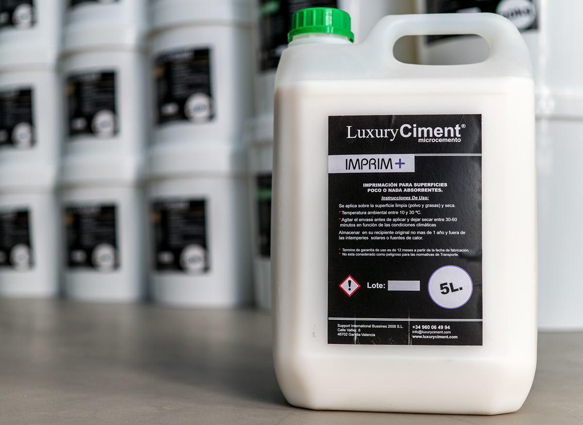 Imprim + imprimación promotor de adherencia para superficies no absorbentes