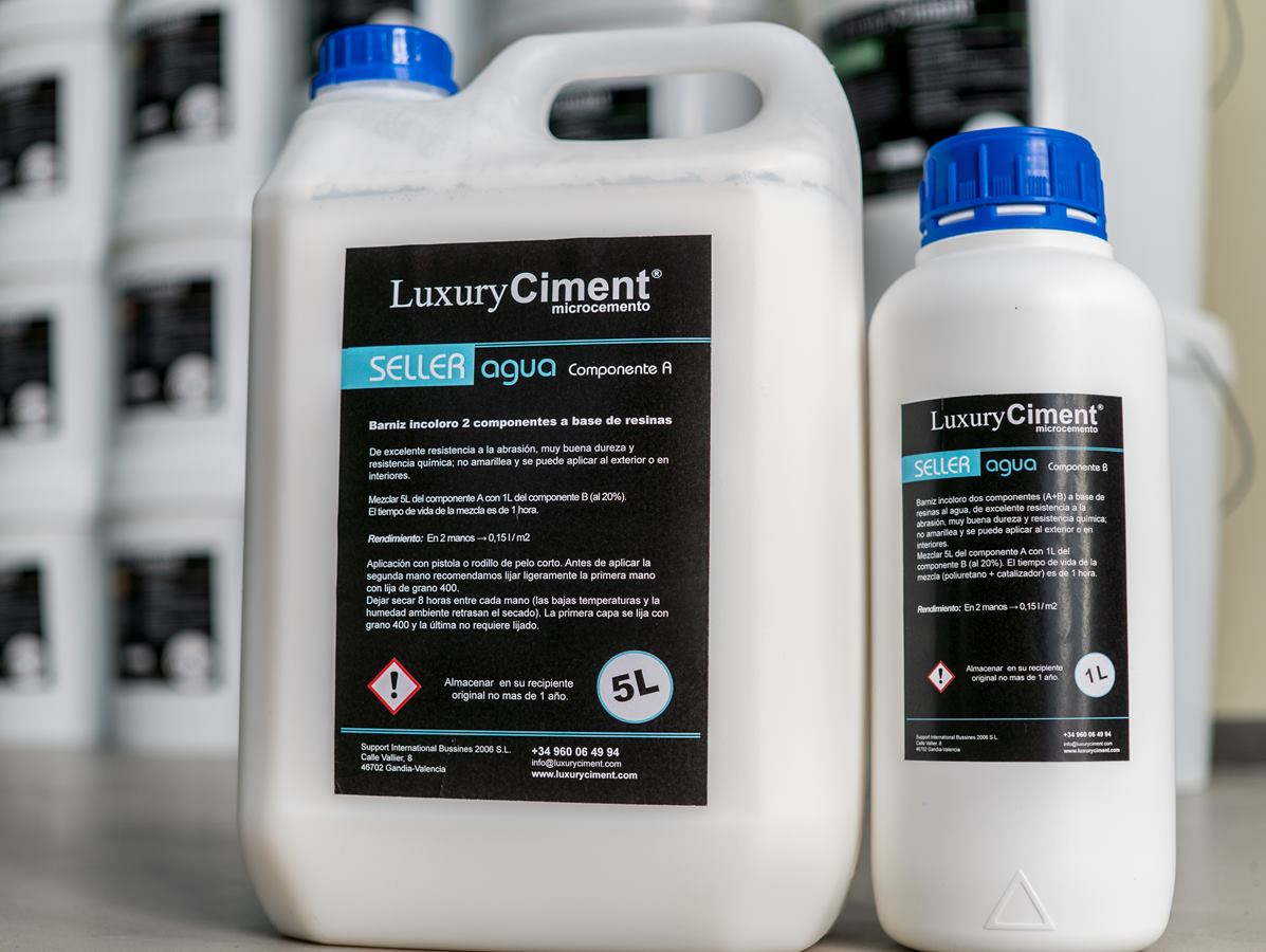 Luxury seller agua sellador microcemento