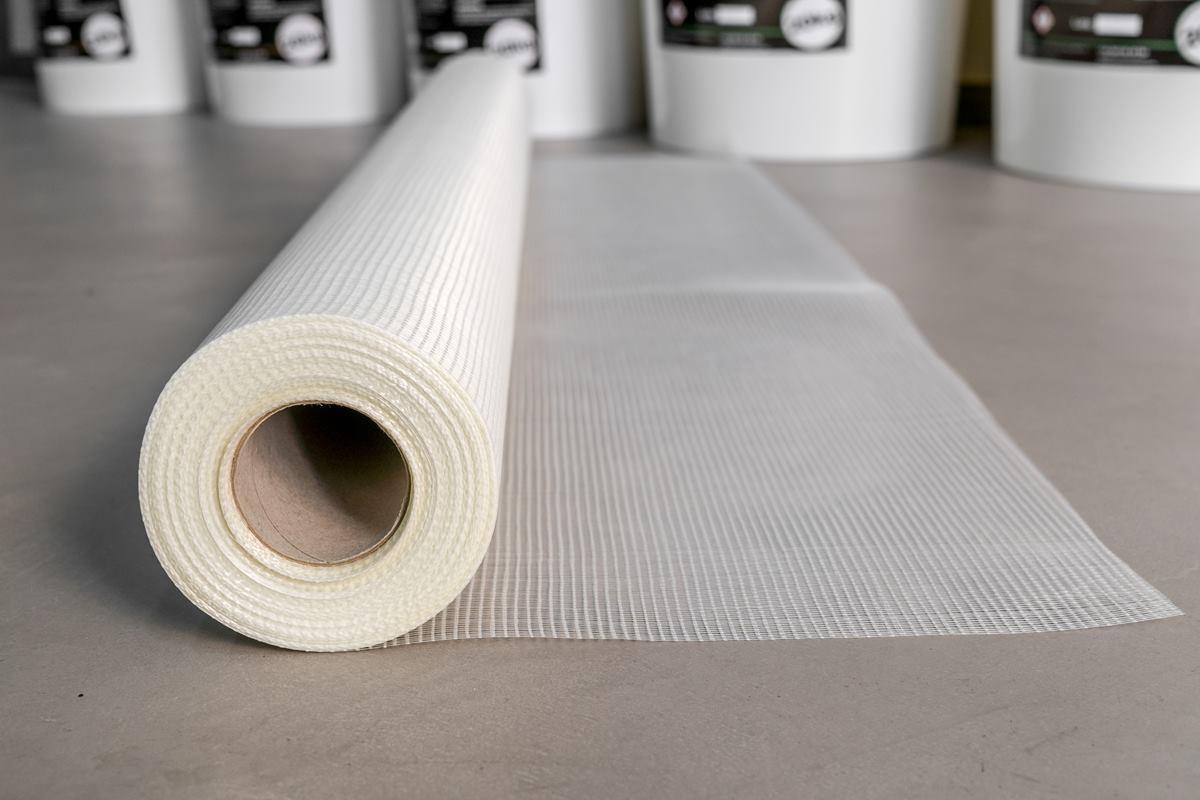 Malla fibra de vidrio preveniene fisuras y consolida la superficie