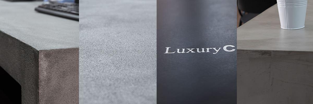Muebles de microcemento en diferente texturas y estilos