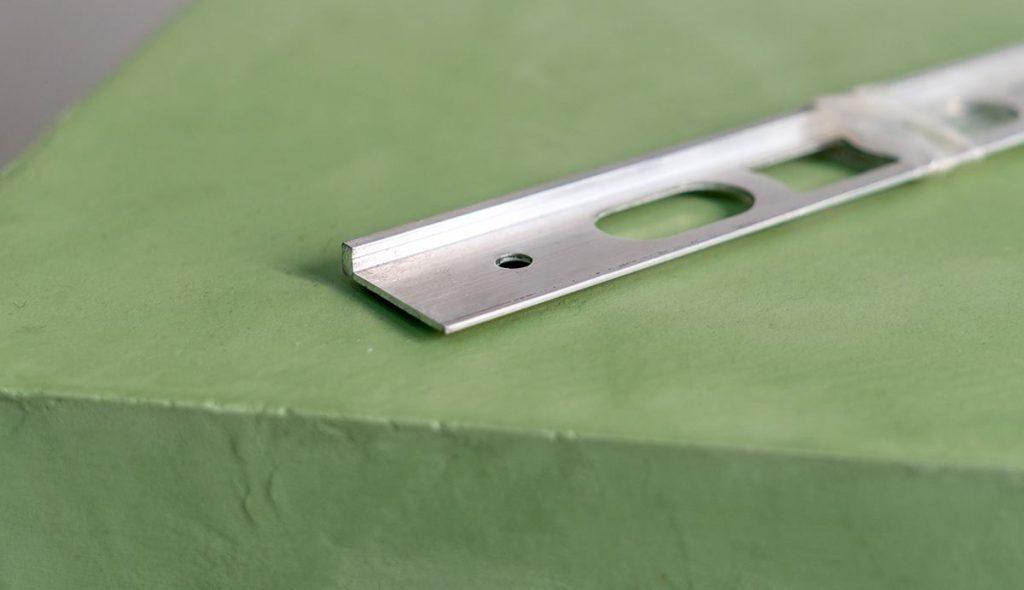 Perfil aluminio 2,70x3m cantonera