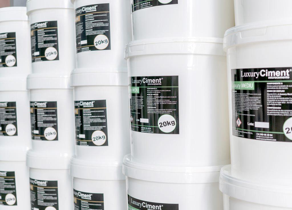 Gama de microcementos Luxury Ciment Microcemento, como y donde quieras