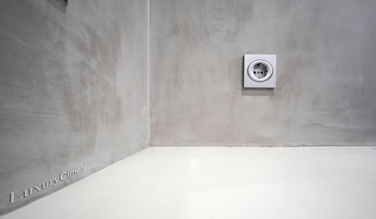 Microcemento en suelos paredes ba os cocinas para - Paredes de microcemento ...