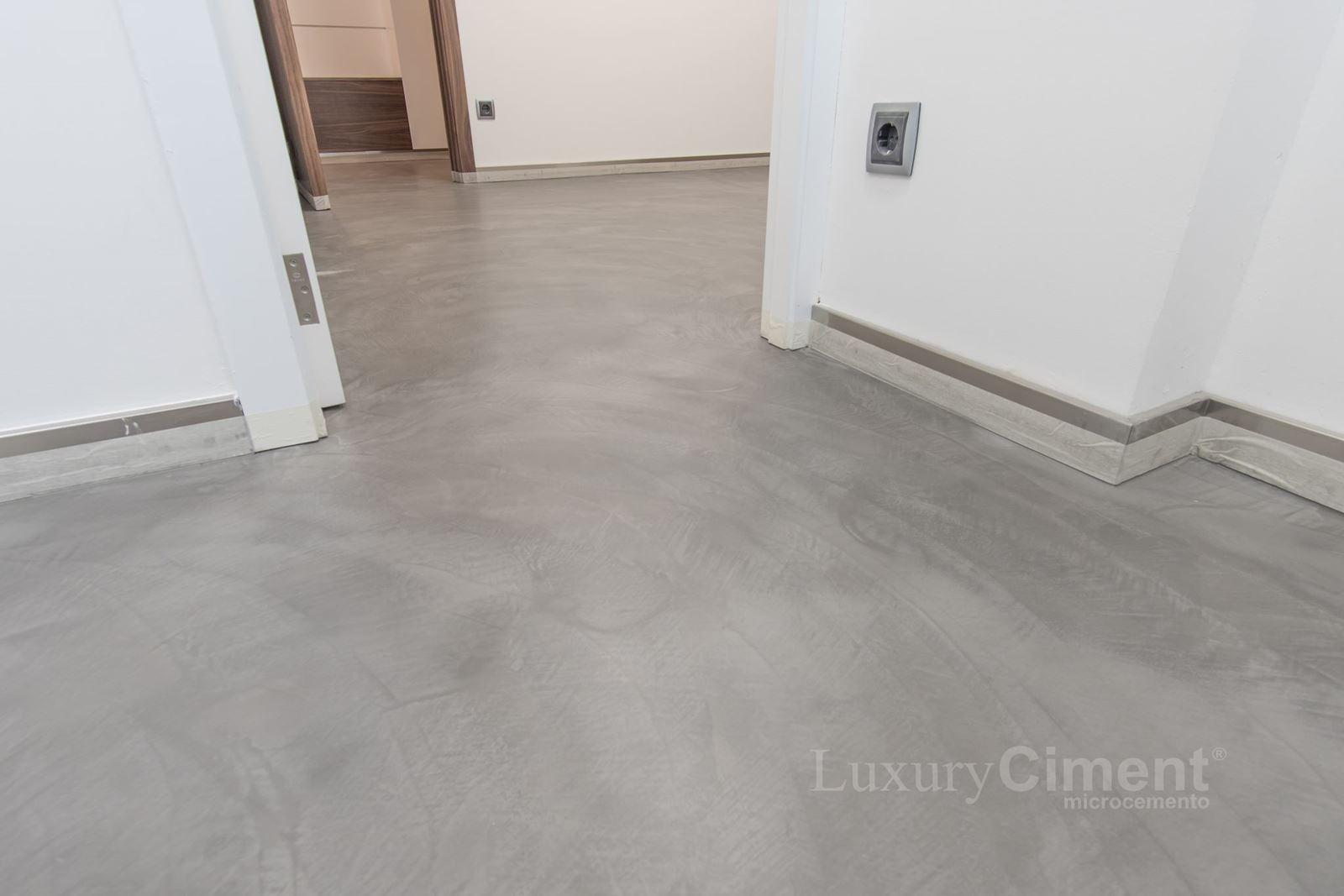 Microcemento en suelos paredes ba os cocinas para interior y exterior - Pavimentos de microcemento ...