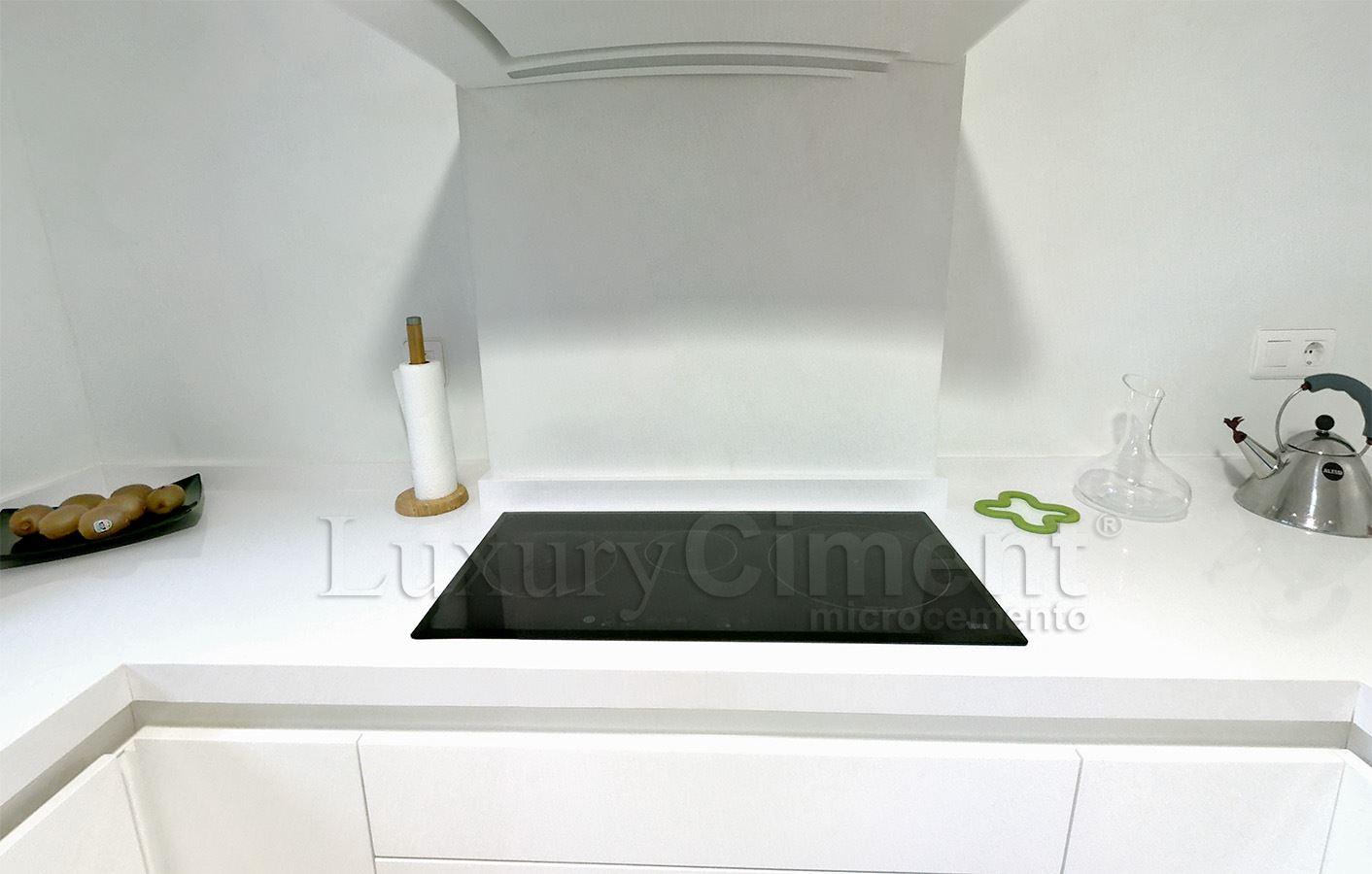 Microcemento en suelos paredes ba os cocinas para interior y exterior - Como aplicar microcemento ...