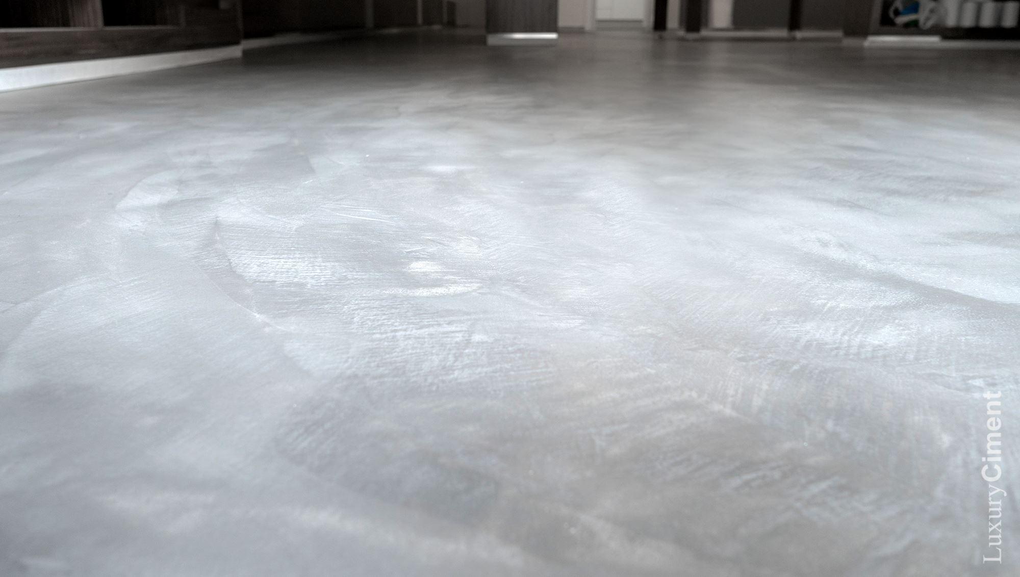 Microcemento caracter sticas limpieza diferencia con - Cemento pulido para suelos ...