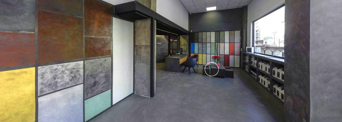 visita virtual tienda valencia LuxuryCiment