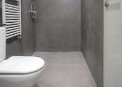 Suelo de ducha con microcemento luxuryCiment